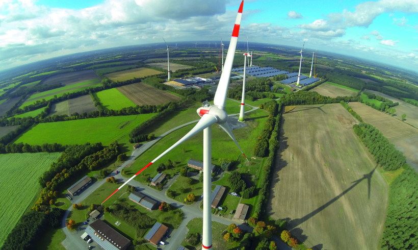 ENERCON E-101 Windpark Saerbeck